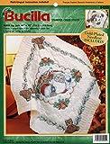 Bucilla - Santa - Stamped Cross Stitch Lap Quilt Kit 84255