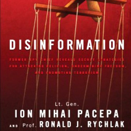 Disinformation cover art
