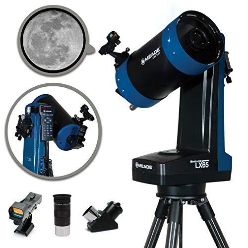 Meade Instruments LX65 Maksutov-Cassegrain-Teleskop mit AudioStarTM GoTo-Technologie