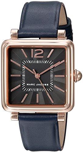 Marc Jacobs Women's Vic MJ1523 Rose-Gold Leather Quartz Fashion Watch