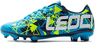 Soccer Shoes - Athletic Football Shoes for Men and Boy...