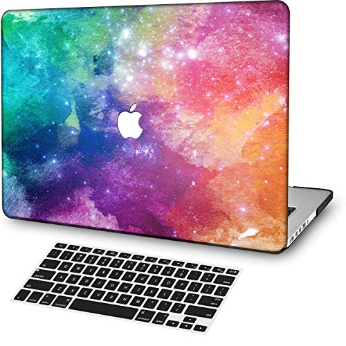 MingCaiFS Laptop Case for MacBook Air 13',Plastic Pattern Ultra Slim Light Hard Case Keyboard Cover(Model:A1369/A1466),Marble A 299