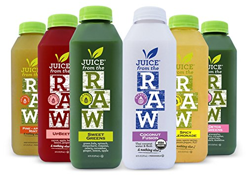 Juice From the RAW 3 Day ORGANIC Juice...