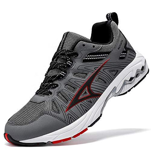 ASHION Walking Jogging Road Trail Running Shoes for Men Non-Slip