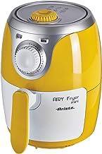 Ariete 4615 Airy Fryer Mini, olievrije luchtfriteuse, 1000 W, capaciteit 2 liter, gemakkelijk te reinigen, geel