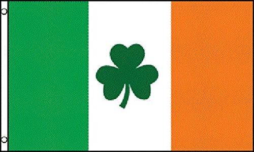 AZ FLAG Flagge Irland MIT KLEE 150x90cm - IRISCHE Fahne 90 x 150 cm - flaggen Top Qualität