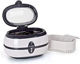 Ultrasonic Cleaner Jewelry Eyeglass Watch Circuit Board Cleaning Machine Intelligent Control Cleaning Bath 600ml 35W