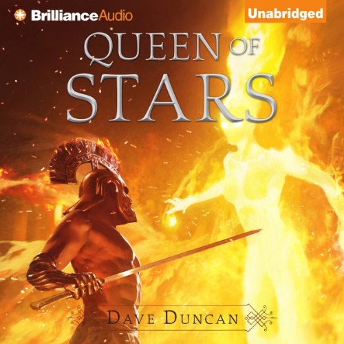 Queen of Stars audiobook cover art
