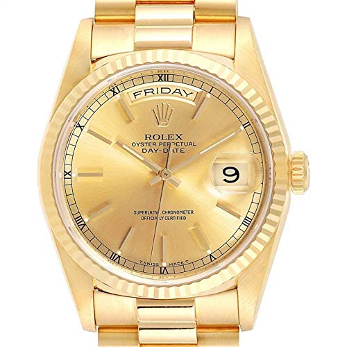 Rolex Day-Date Automatic-self-Wind Male Watch 18238 (Certified Pre-Owned)