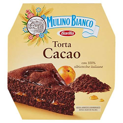 Mulino Bianco Torta al Cacao con Farcitura di Albicocche, per una Pausa Gustosa, 570 g