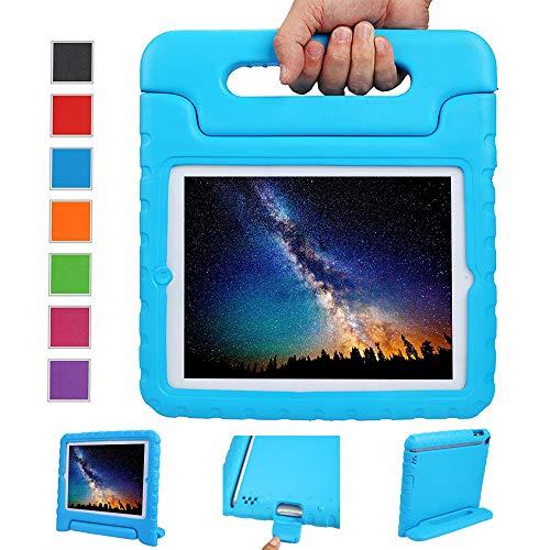 NEWSTYLE Custodia per iPad 2 3 4, Custodia Protettiva Antiurto con Supporto per Bambini per Apple Apple iPad 2 iPad 3 iPad 4 Tablet - Azzurro