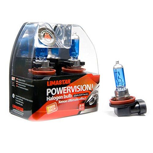 10 x H8 PGJ19-1 lampen auto halogeenlampen 6000K 35W Xenon gloeilampen 12V