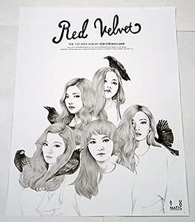 RED VELVET - Ice Cream Cake (1st Mini Album) [AUTOMATIC Ver.] OFFICIAL POSTER 17.7 x 24.0 inches