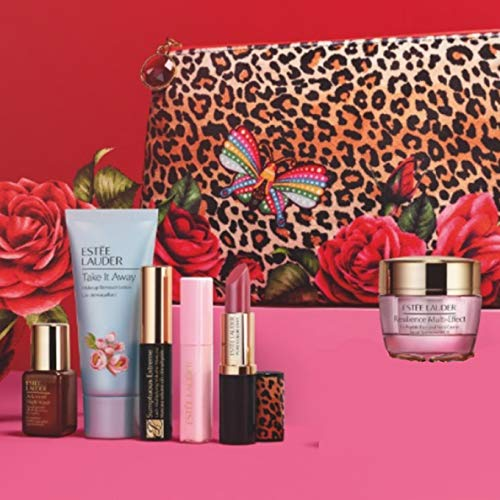 Estee Lauder Macy's 2020 Fall 7pc Gift Set Skincare Makeup Resilience