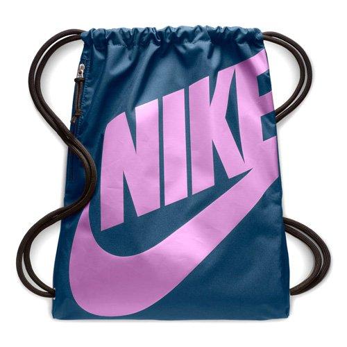 Nike Heritage Gym Sack (One Size, Sport Fuchsia/True Berry)