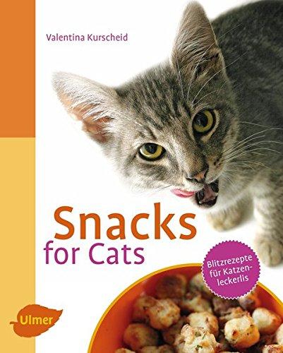 Snacks for Cats: Blitzrezepte für Katzenleckerlis