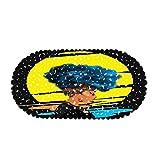 DREAMING-Alfombrilla Antideslizante De Baño para Mujer Africana, Material De PVC, Alfombrilla Antideslizante, Alfombrilla para Hotel, Alfombrilla para Bañera, Alfombrilla para Ventosa 35 * 70CM