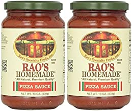 Rao's Homemade All Natural Pizza Sauce -13 oz (Pack of 2)