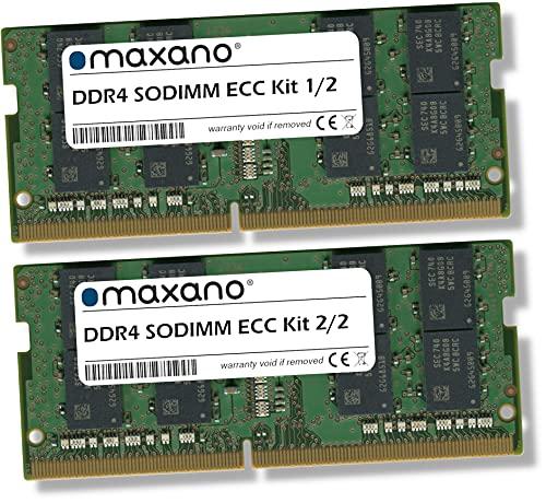 Maxano 32GB Kit (2x16GB) RAM passend für Synology DiskStation DS1621+, DS1621xs+ DDR4 2666MHz SODIMM ECC Arbeitsspeicher