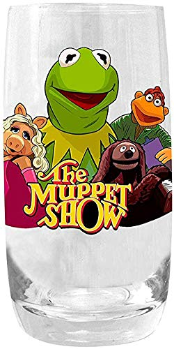 The Muppet Show Kermit The Frog Collectible Pint Tumbler Glass
