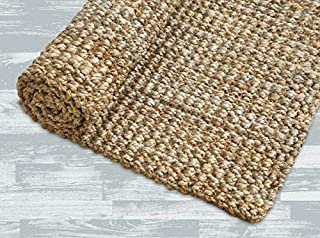 Iron Gate Handspun Jute Area Rug 5x8 Hand Woven by Skilled Artisans, 100% Natural Jute Yarns, Thick Ribbed Construction, Reversible for Double The wear, Rug pad Recommended (B007MA75I6) | Amazon price tracker / tracking, Amazon price history charts, Amazon price watches, Amazon price drop alerts