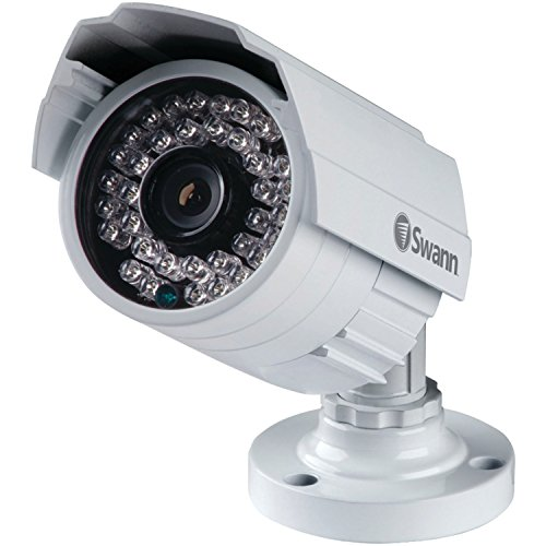 Swann SWPRO-842CAM-US 900TVL High-Resolution Security Camera, White/Gray