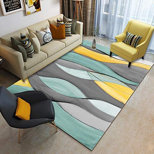 Alayth grote tapijten woonkamer crème anti-slip koffie tafel pad gemakkelijk te reinigen decoratieve tapijt