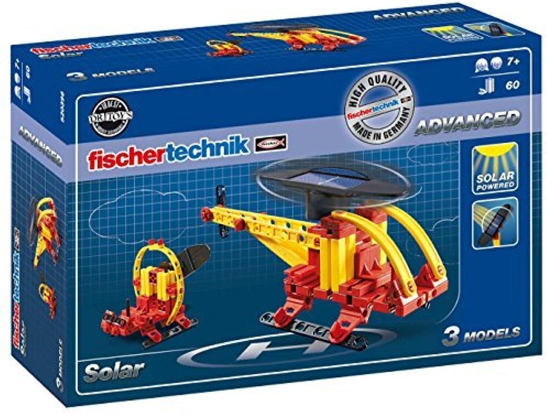 Fischertechnik Basic Solar Kit, 60Piece by fischertechnik