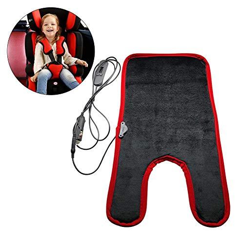Millster Auto Sicherheit Heizung Sitz - Baby Sitzheizung Cushion Safe Thermostatic Heizkissen Für Kindersitze