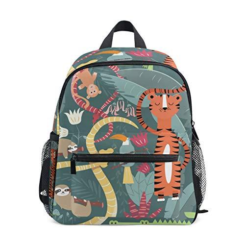Kinderrucksack Süße Tiger Kindergarten Kindergartentasche für Kleinkinder Mädchen Jungen