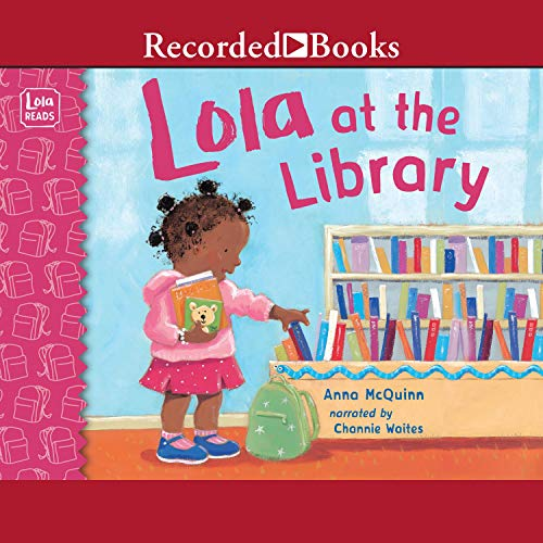 Lola at the Library audiobook cover art