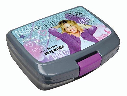 Undercover VIAE9900 - Brotzeitdose Disney Violetta, ca. 13 x 17 x 6 cm, grau