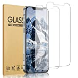 [2 Pack] Sushelp Compatible with iPhone 12/iPhone 12 Pro 5G Screen Protector, 0.2mm Tempered Glass Film HD Clear [6.1 Inch] [9H Hardness, 6X Stronger, Scratch Resistant, Bubble Free] Work Most Case