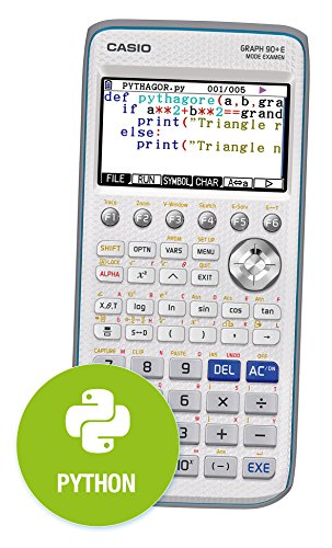 Casio 4549526600838 Calculatrice graphique Graph 90+E, mode examen