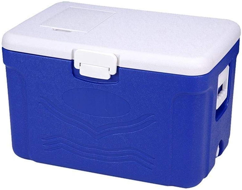 Kühlbox Outdoor Camping Mittagessen - Autoladung Zum Mitnehmen Lebensmittellieferung - Leicht Zu Transportierende Blau