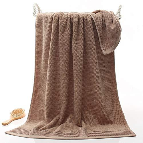 Shangfu Suministros de baño Set de Toalla de Nido de Abeja Toallas de Cara de Belleza geométrica Suave 100% algodón 3 Colores Adultos (Color : Coffee, Size : 1pcs 34x75cm)