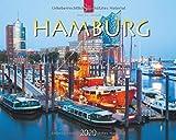 Hamburg: Original Stürtz-Kalender 2020 - Großformat-Kalender 60 x 48 cm