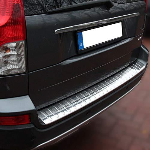 Recambo CT-LKS-2120 LADEKANTENSCHUTZ Edelstahl Chrom für Volvo XC90 I | 2002-2014 | Design Auflage, Large