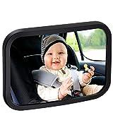 vitutech Rücksitzspiegel für Babys, Spiegel Auto Baby, Bruchsicherer Auto-Rückspiegel für...
