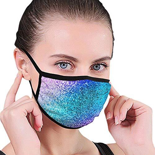 Mond Maskers Kleurrijke Glitter Mond Cover Wasbaar Winddicht Warm Ademend Elastische Oorlus Gift Gezichtsmasker Unisex Herbruikbare Werk School Outdoor