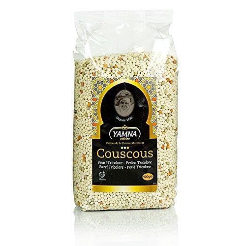 Cous-Cous, Perlen, Tricolore, Yamna, 900g