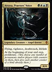 A single individual card from the Magic: the Gathering (MTG) trading and collectible card game (TCG/CCG). This is of Mythic Rare rarity. From the Commander 2016 set. You will receive the Foil version of this card.