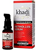 Khadi Global Retinol Deep Wrinkle Repair Serum With Vitamin C Serum, Vegan Glutathione