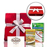 Get Well Gifts Box - Includes Luxury Blanket Wellness Tea Chicken Soup and Word Find Book | Get...