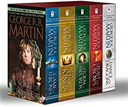 Game of Thrones 5 Copy Boxed Set by George R. R. Martin - Paperback