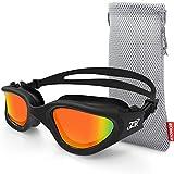 ZIONOR Swimming Goggles, G1 Polarized Swim Goggles...
