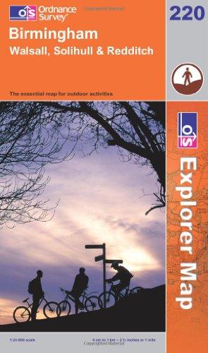 OS Explorer map 220 : Birmingham