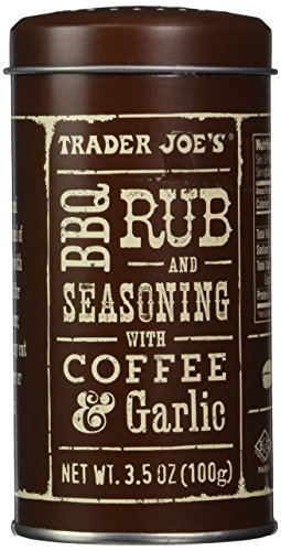 Trader Joe's BBQ Rub and Seasoning with Coffee & Garlic