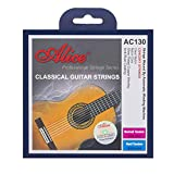 Alice Classical Guitar Strings 028-043 Normal Tension Nylon Strings with Anti-Rust Coating, 2 Sets