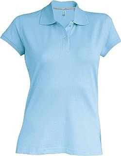 Polo T-Shirt -Sky Blue for Women